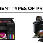 8 Different Types of Printers 【Comparison 2021】